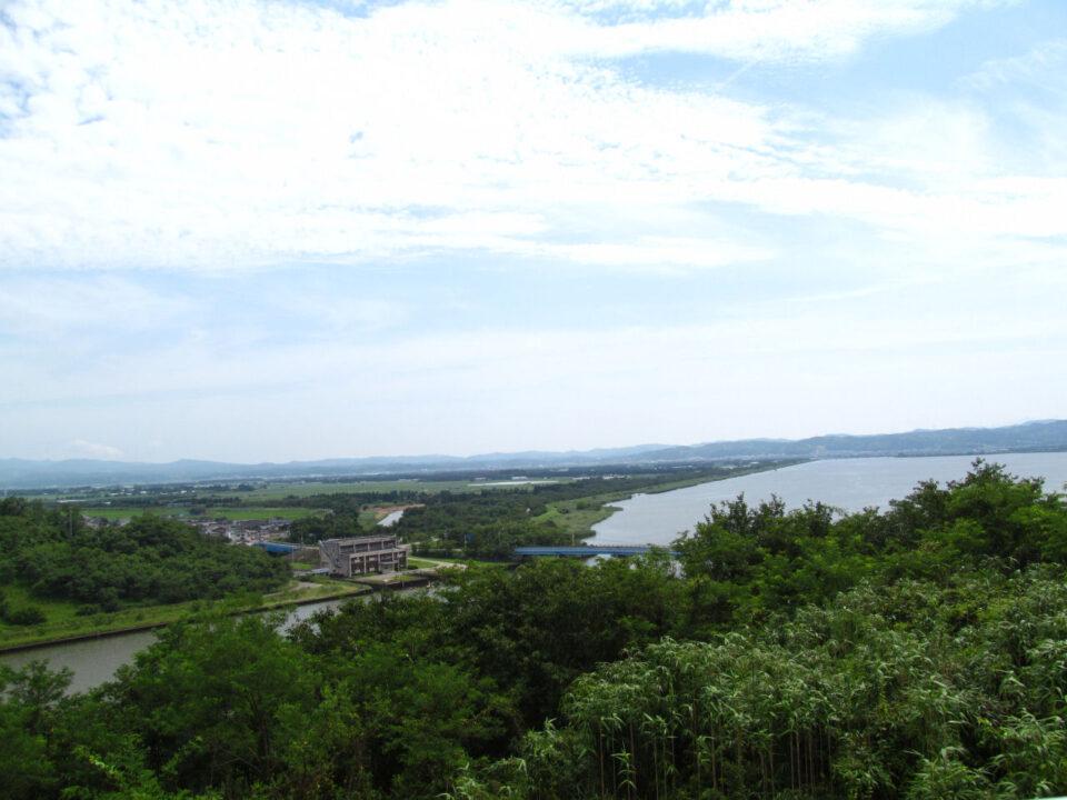 内灘大橋から河北潟