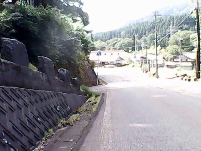 一里野ジャンプ台への道まで戻ってきた